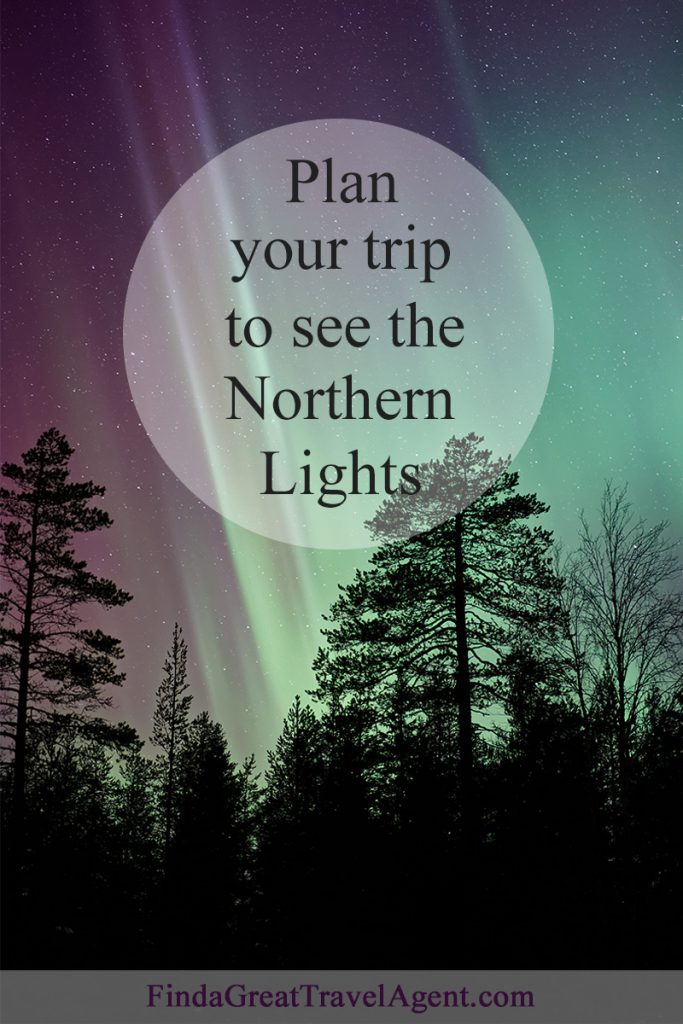 Plan your trip to see the Northern Lights