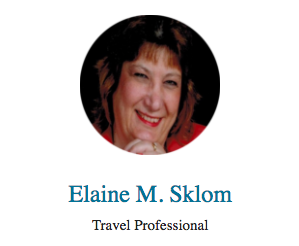 Travel Agent Elaine Sklom