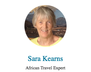 Travel Agent Sara Kearns